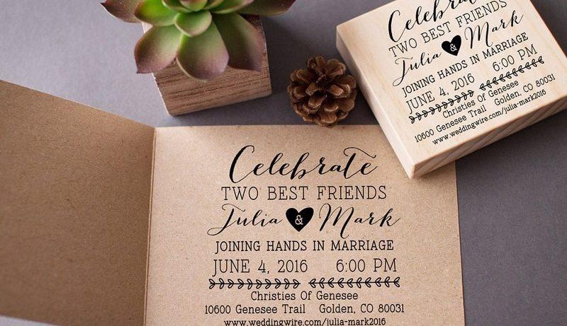 Partecipazioni Matrimonio Julia.Timbri Matrimonio Partecipazioni Personalizzate Per Tuo Giorno